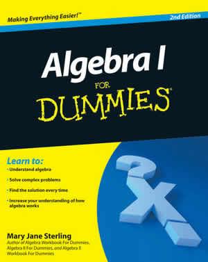 Algebra I para Dummies